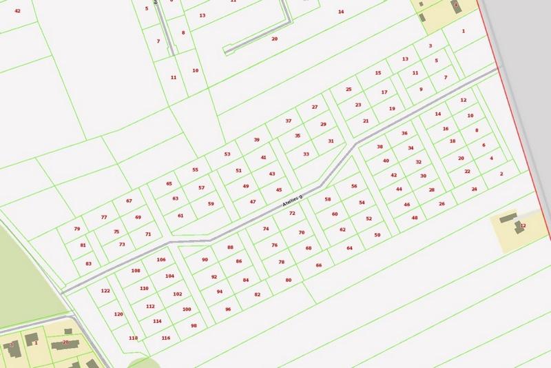 Sklypams Suteikti Adresai Ir Pakeista Paskirtis įregistruota Nekilnojamojo Turto Registre